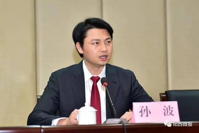 阳江孙波_孙波任中共阳江市委常委,阳西县委书记