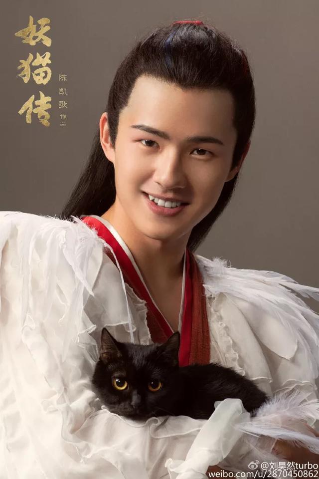刘昊然在这部剧中,饰演的是白鹤少年白龙,是术士黄鹤的徒弟,也是后来