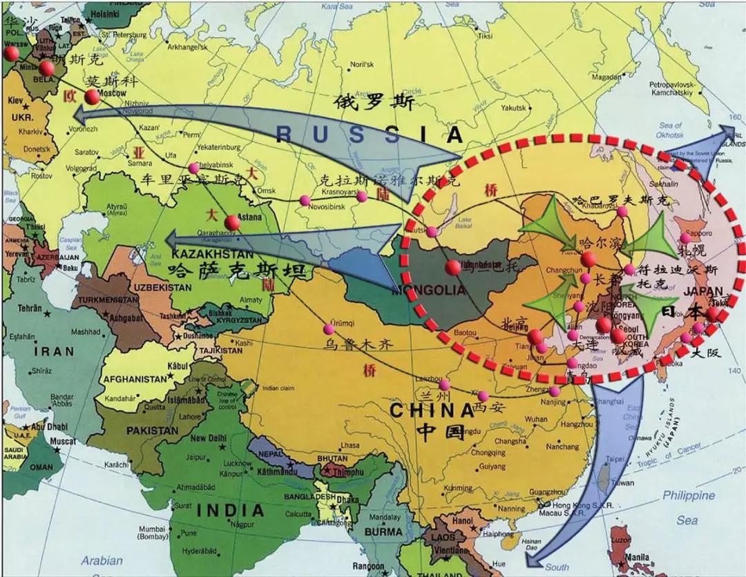 这次要建东北亚铁路共同体!图片